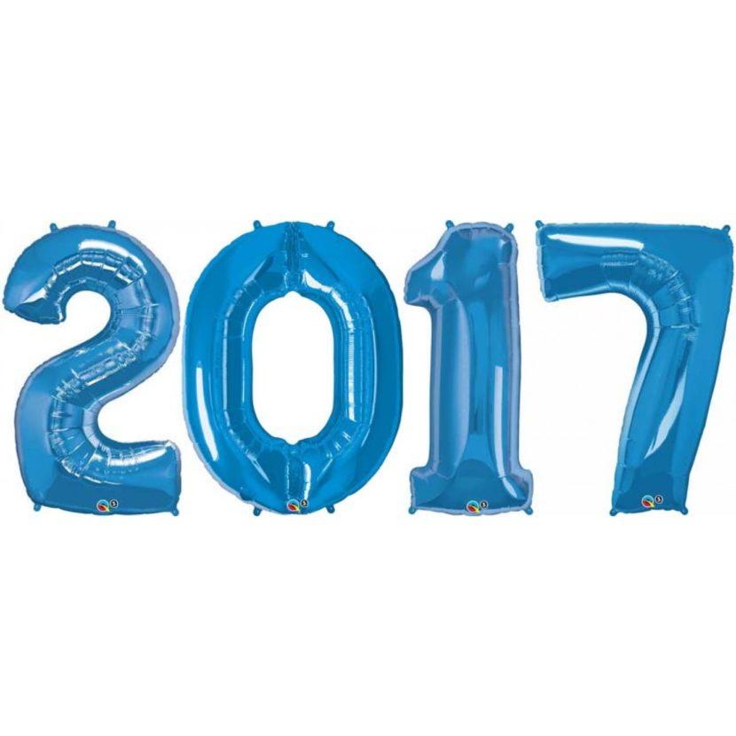 Aasta 2017 Heeliumipall
