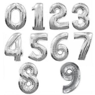 Hõbedased numbrid